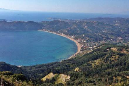 Agios Georgios Beach in Corfu