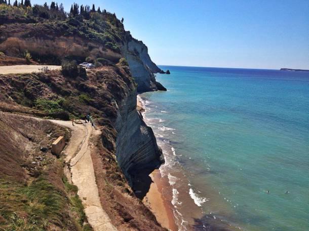 Logas Beach in Corfu