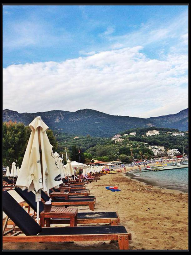 Valtos Beach in Parga