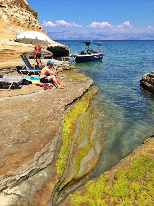 Cape Drastis Beach Corfu