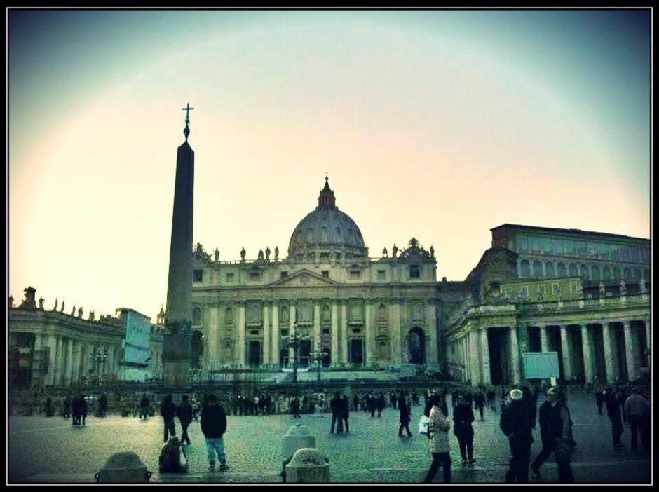 St Peter's Basilica in Vatican Rome