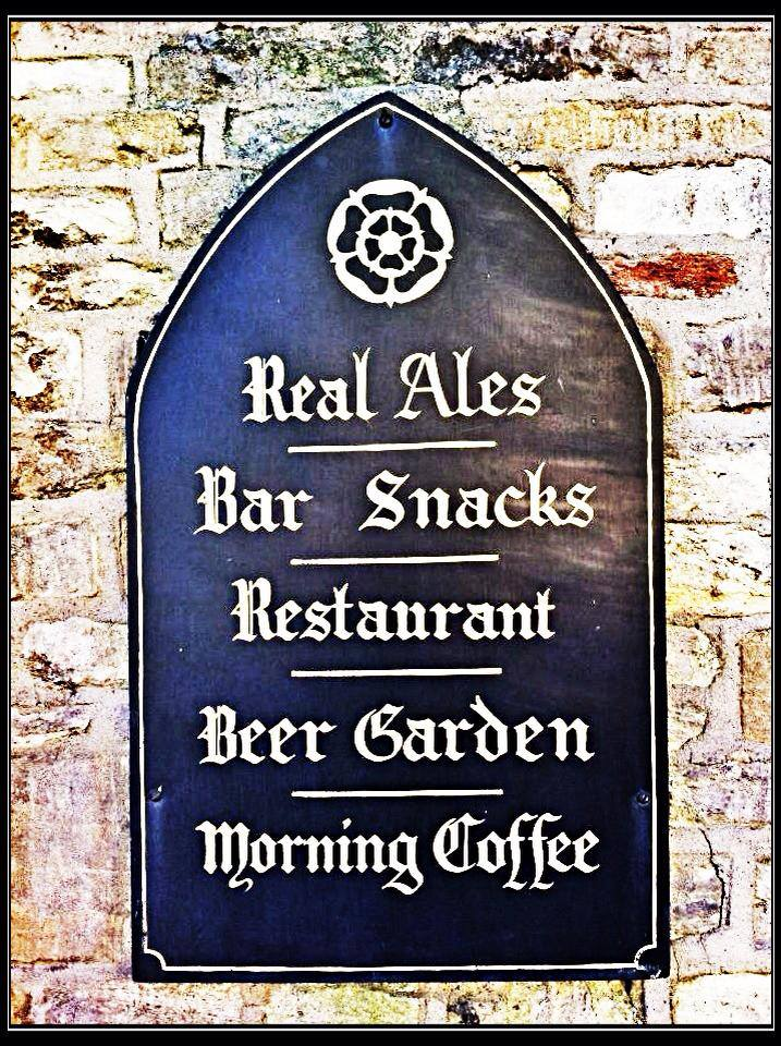 Only real ale is served here. :p