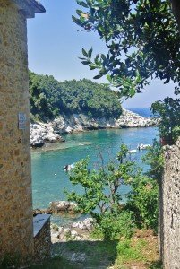 Damouchari Beach, Pelion, Greece