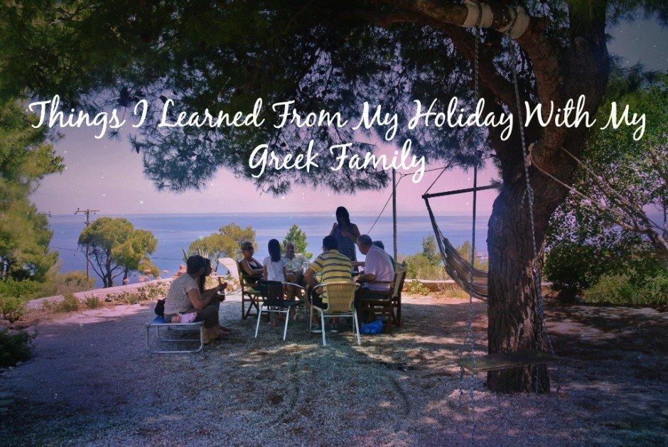 Greek family