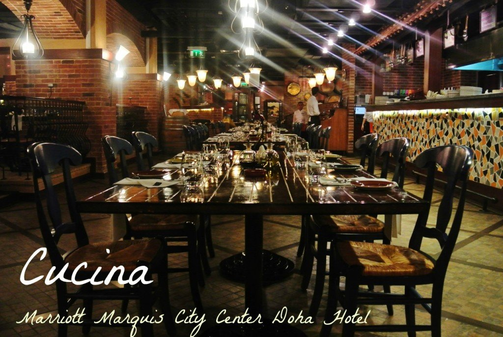 Cucina at Marriott Marquis City Center Doha Hotel