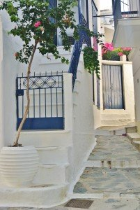 Skopelos Old Town, Greece