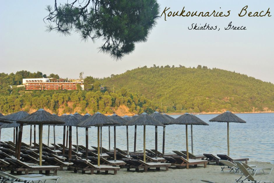 Koukounaries Beach, Skiathos, Greece