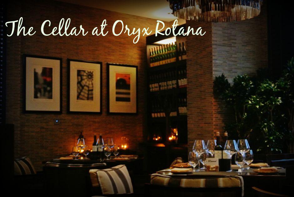 The Cellar at Oryx Rotana
