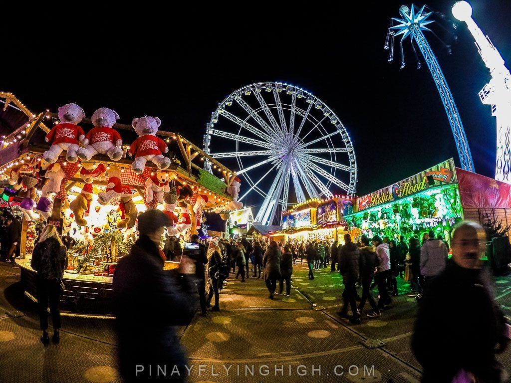 christmas in london hyde park winter wonderland the grandest of