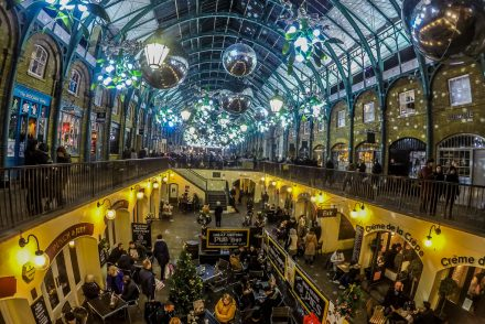 Covent Garden Christmas Lights, London - PinayFlyingHigh.com