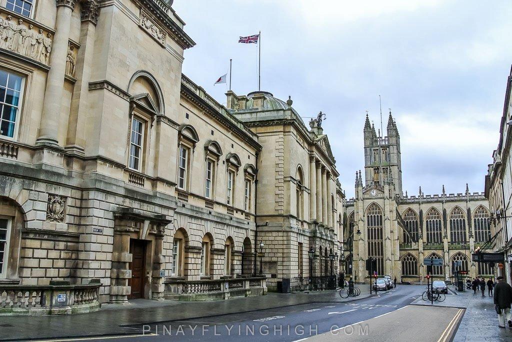 BAth Guildhall, Bath, England - PinayFlyingHigh.com