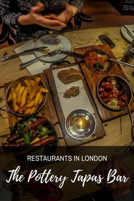 Restaurants in Kingston Upon Thames, London - The Pottery Tapas Bar