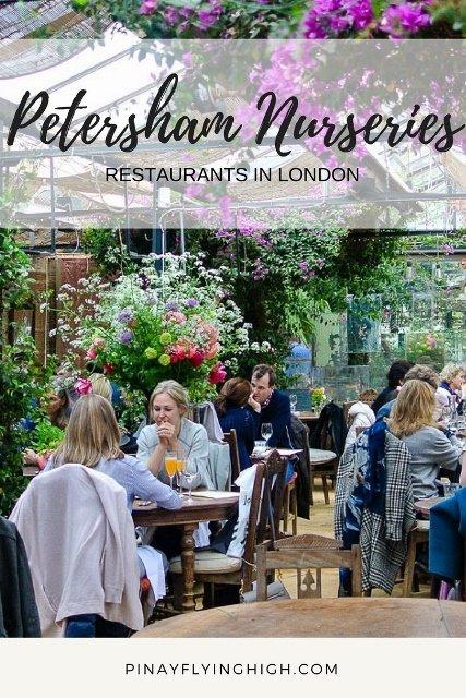 Petersham Nurseries - Restaurants in London. PinayFlyingHigh.com (427x640)
