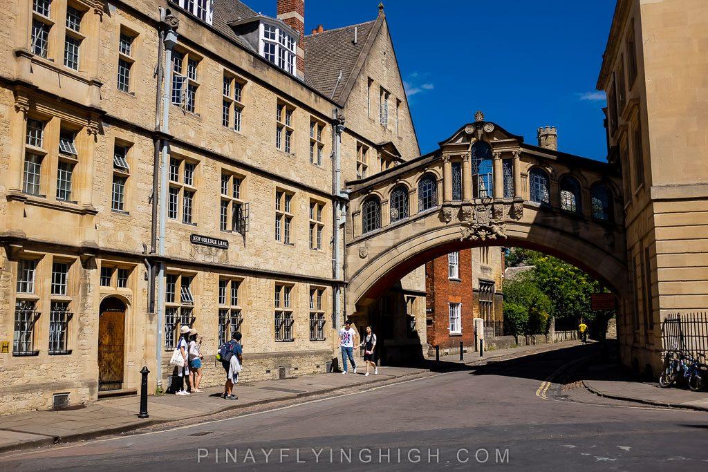 The Bridge of Sighs, Oxford, England