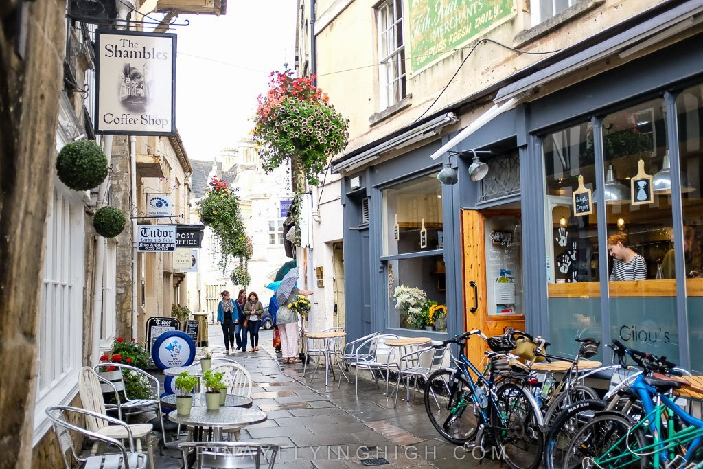 The Shambles in Bradford on Avon