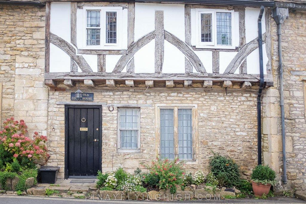 House door in Castle Combe