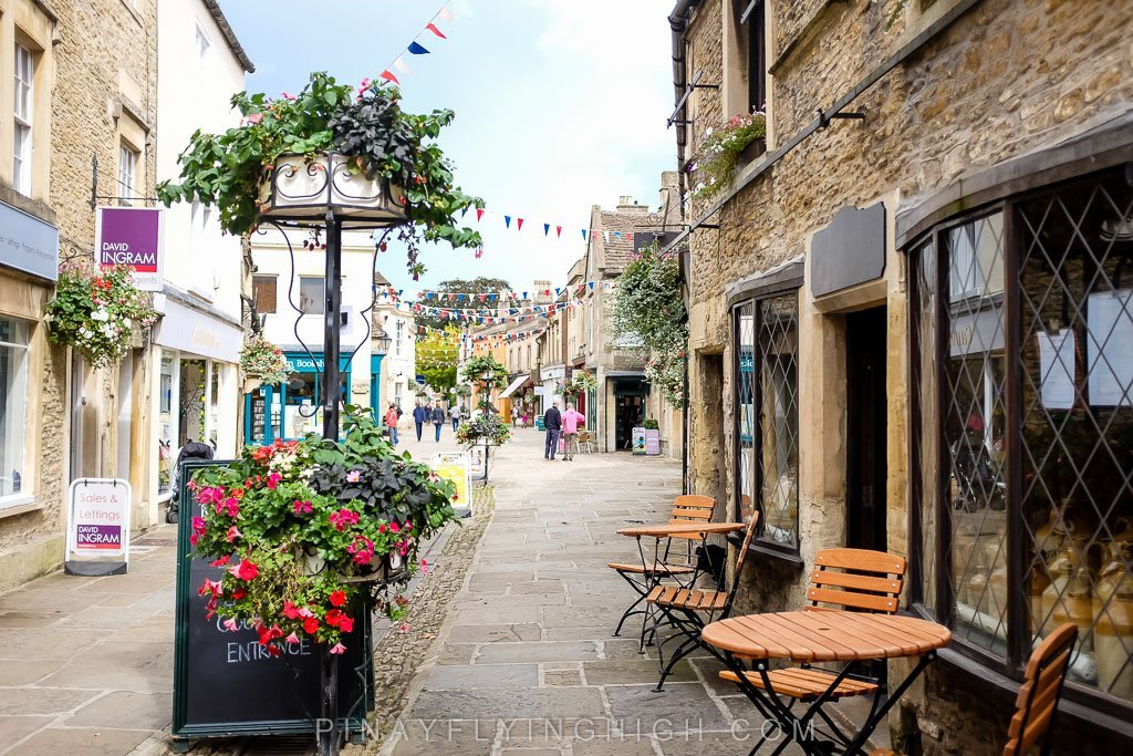 High Street in Corsham