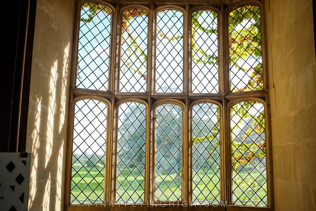 The lattice window photographed by William Henry Talbot on the world's first photographic negative.