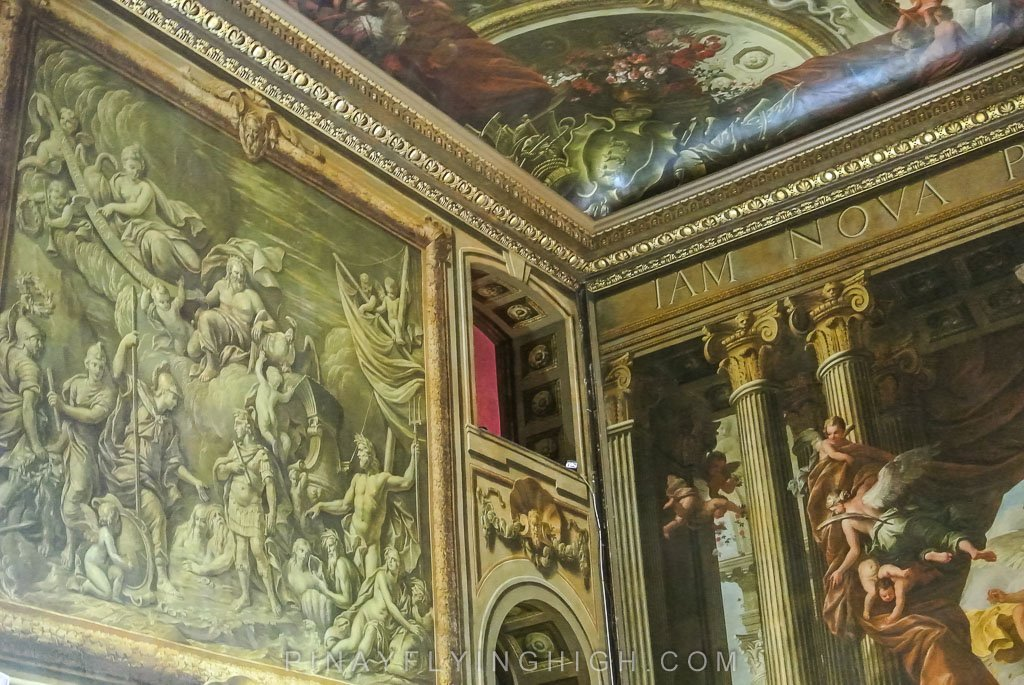 Painted Ceiling Tour, Greenwich, London - PINAYFLYINGHIGH.COM-114