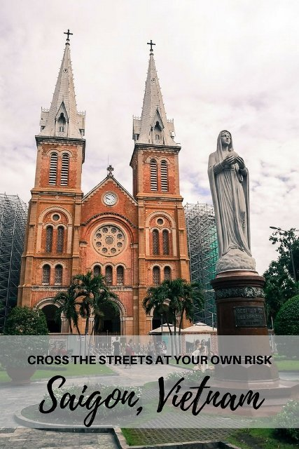 Saigon, Vietnam - Cross The Streets At Your Own Risk