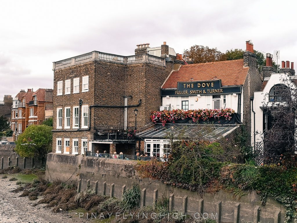 The Dove, Hammersmith, London, England