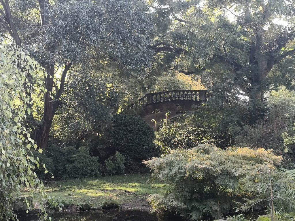Japanese Bridge, York House, Twickenham, London