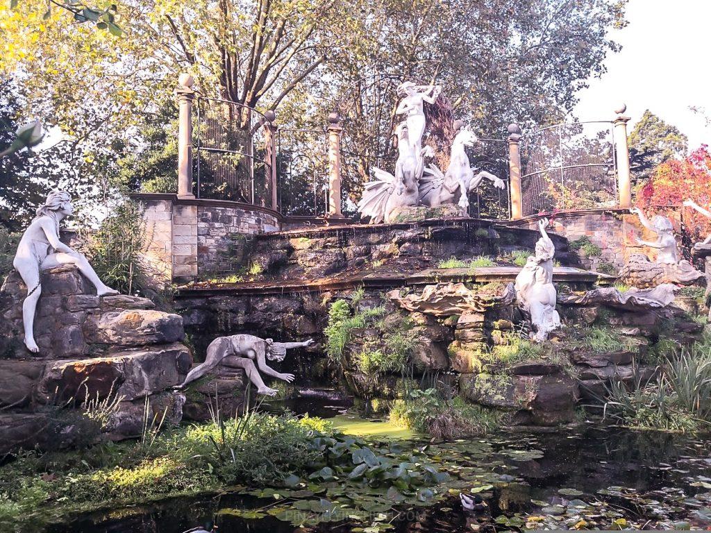 York House Gardens Fountain, Twickenham, London