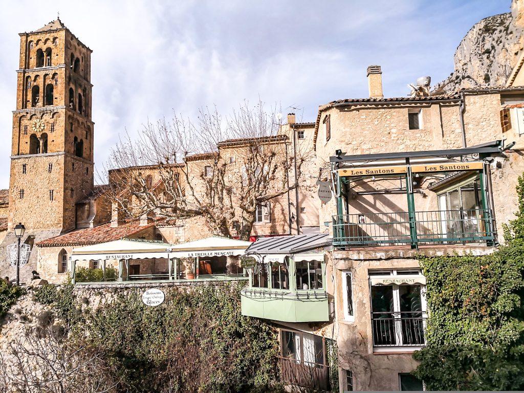 Moustiers Sainte Marie, France
