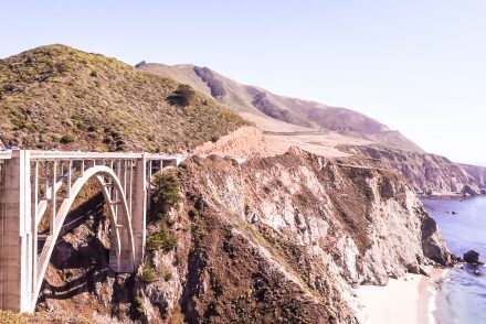 Bixby Bridge, Big Sur Drive, California