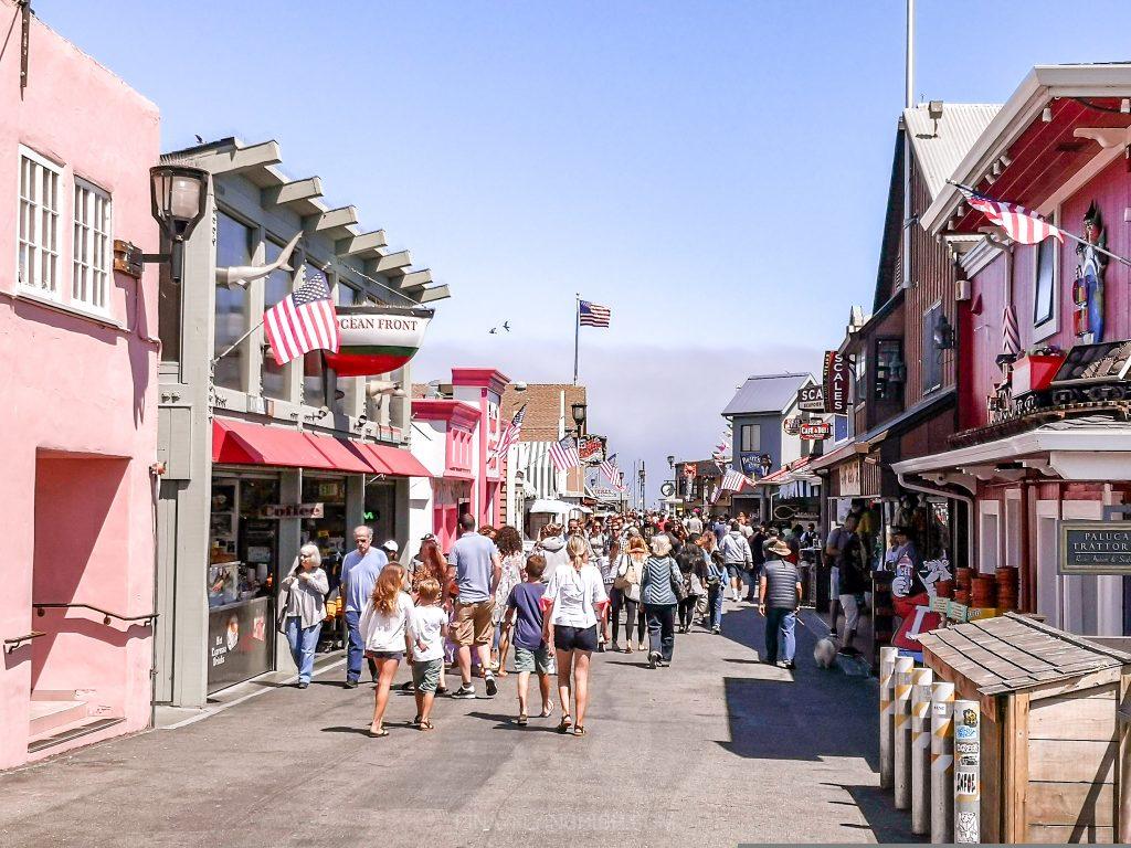 Old Fisherman's Wharf, Monterey, California
