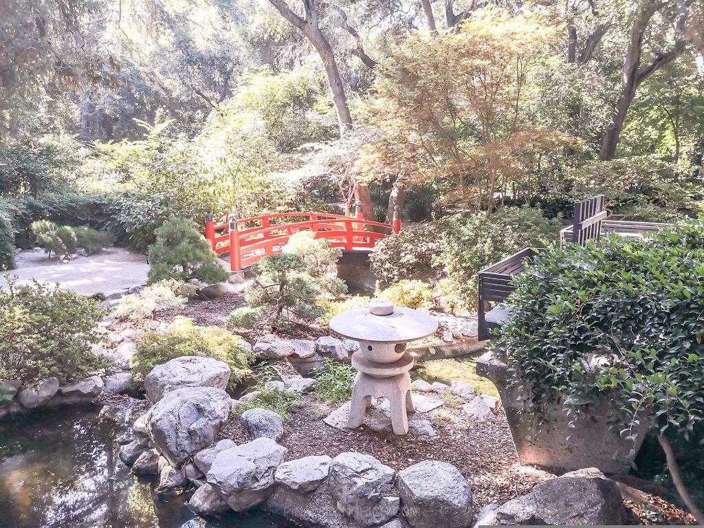 Japanese Garden in Descanso Gardens, Los Angeles, California