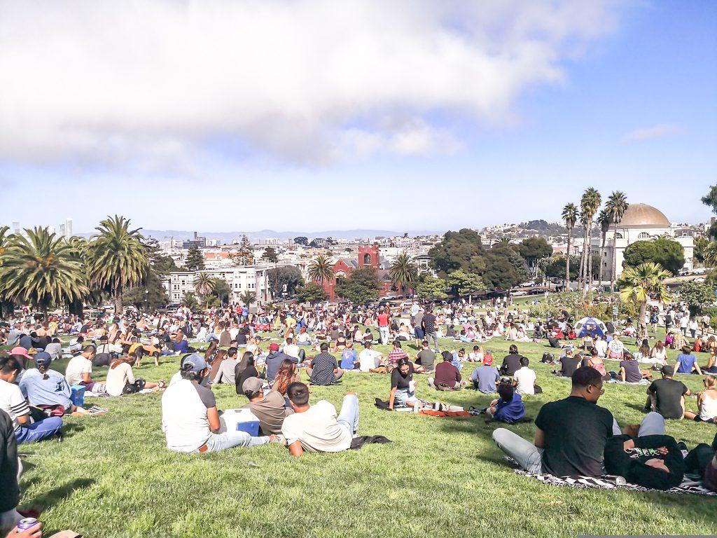 Dolores Park, San Francisco, USA