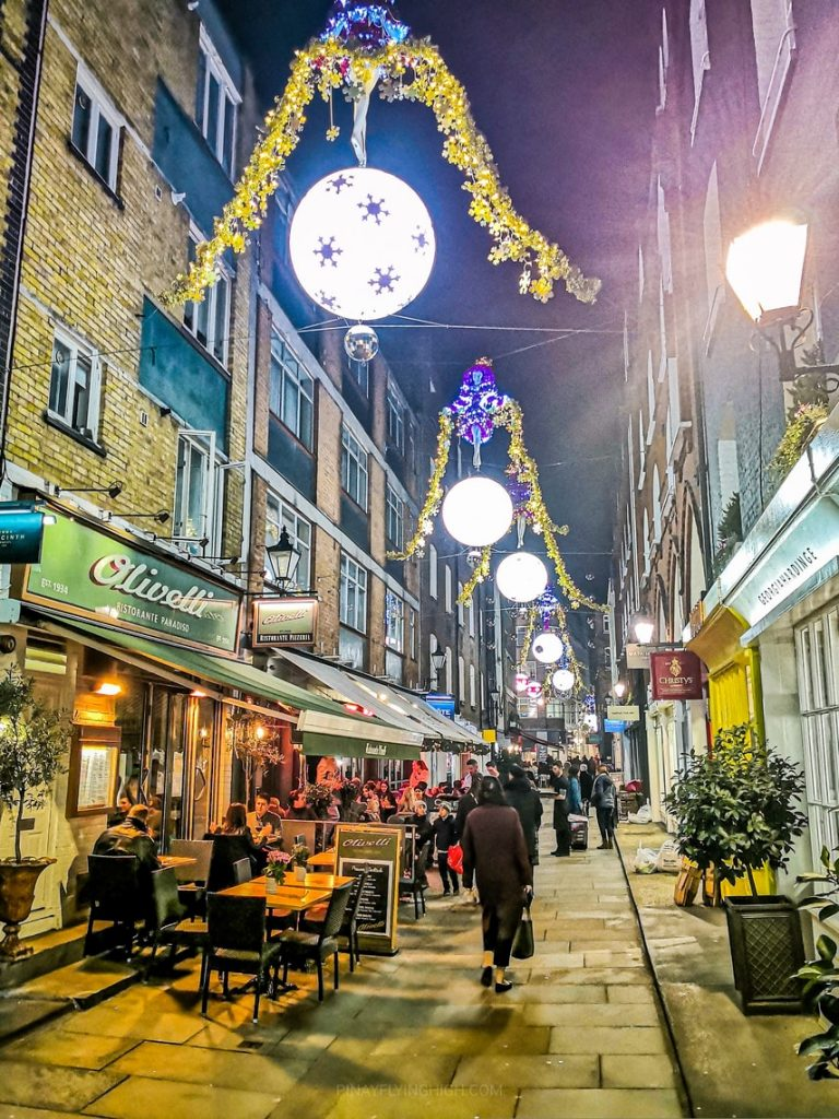St Christopher's Place, London