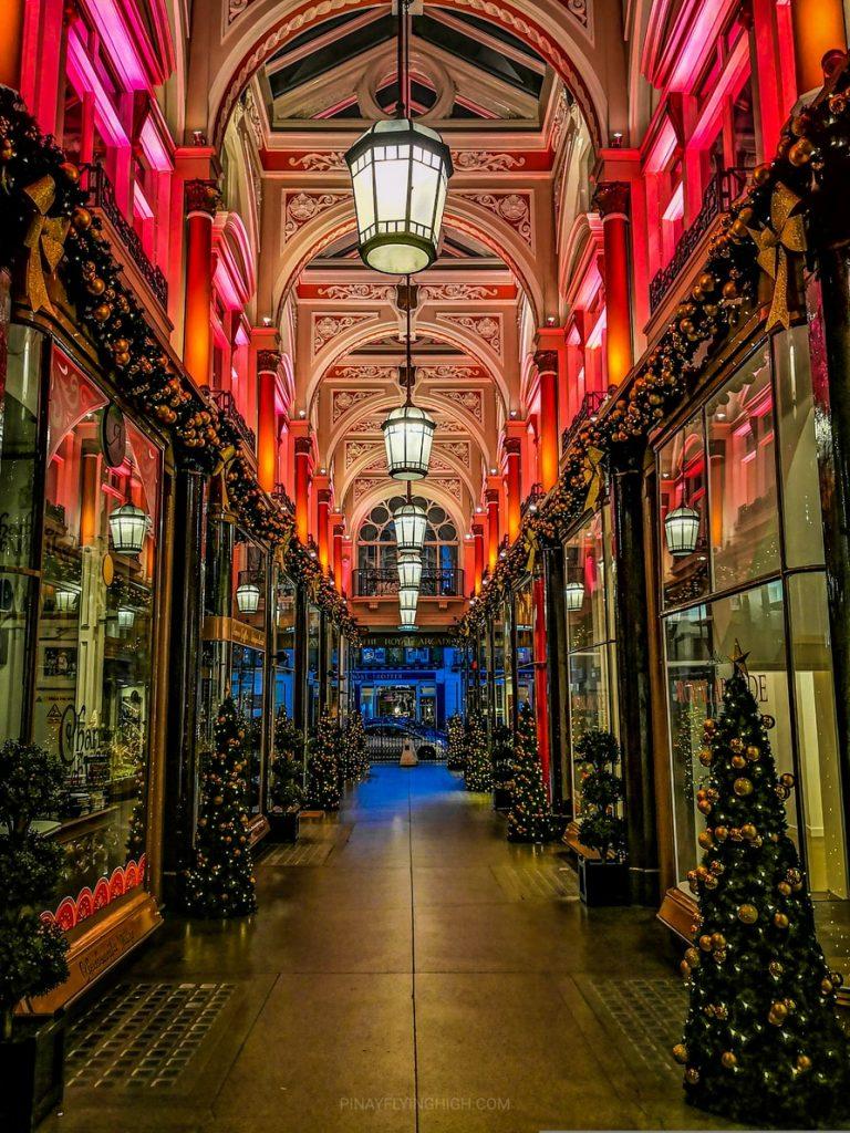The Royal Arcade, London