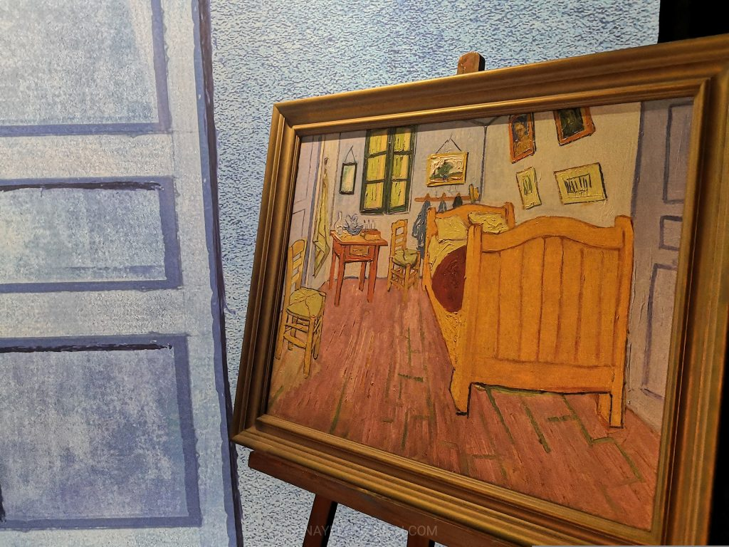 the bedroom in arles painting at meet vincent van gogh experience