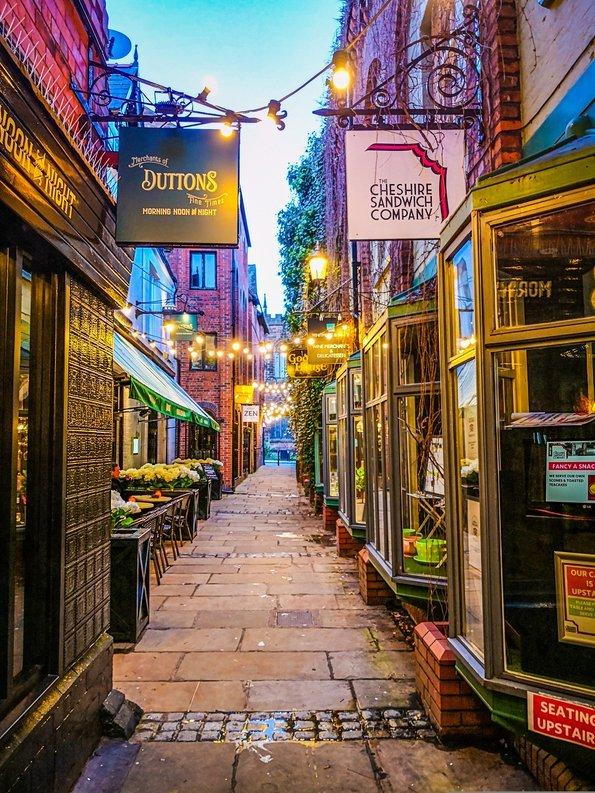 Godstall Lane, Chester, England