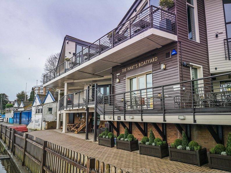 Hart's Boatyard, Surbiton, London, England