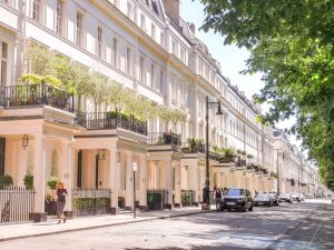 Eaton Square, Belgravia, London