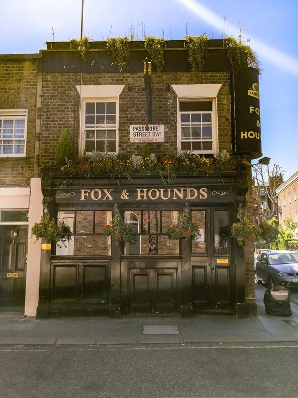 Fox & Hounds, Belgravia, London