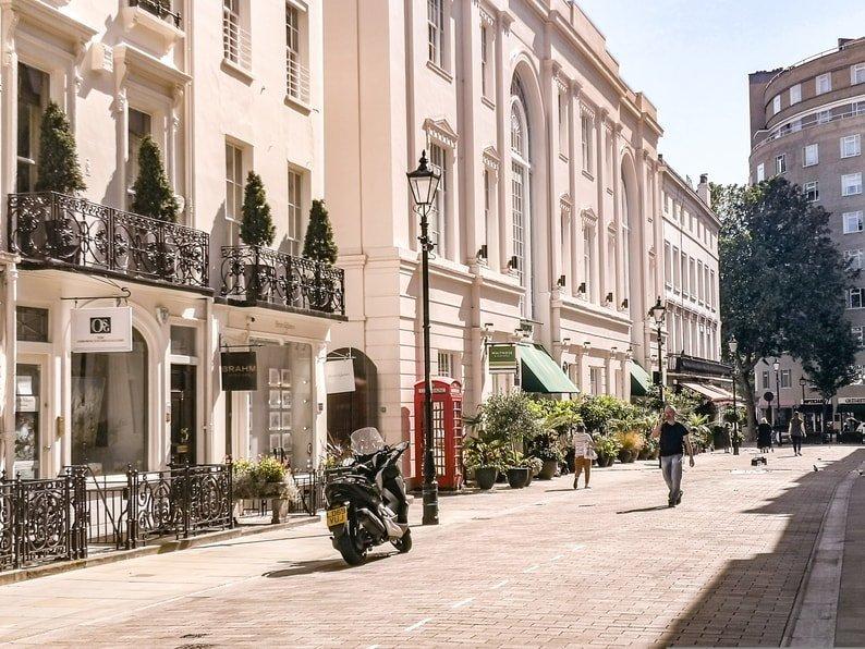 Motcomb Street, Belgravia, London