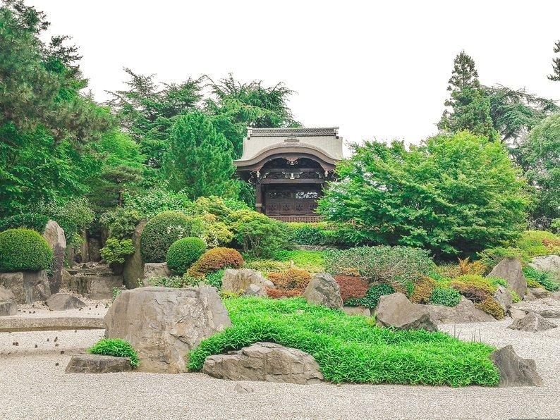 JApanese Garden in Kew Gardens