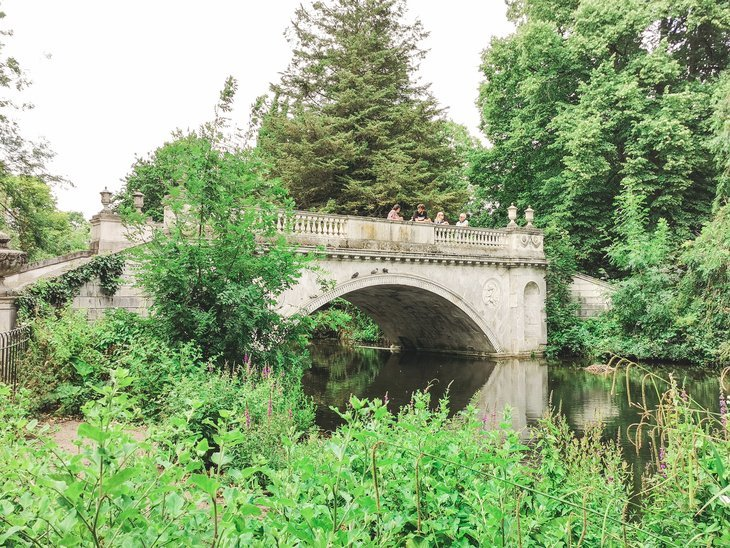 Classical Bridge at Chiswick House and Gardens