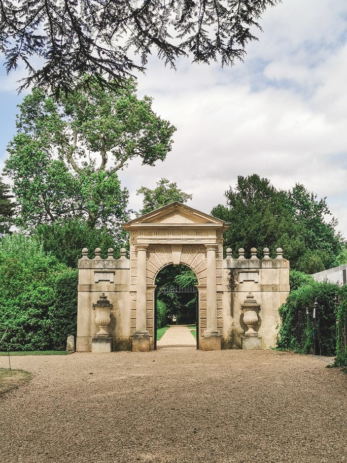 Inigo Jones Gate at Chiswick House and Gardens
