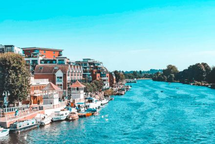 Kingston Riverside, London, England