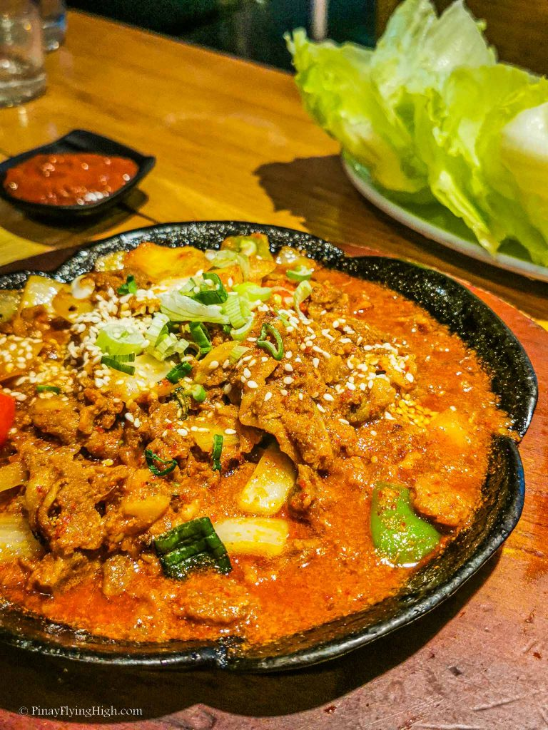 Pork Bulgogi at Lime Orange Restaurant