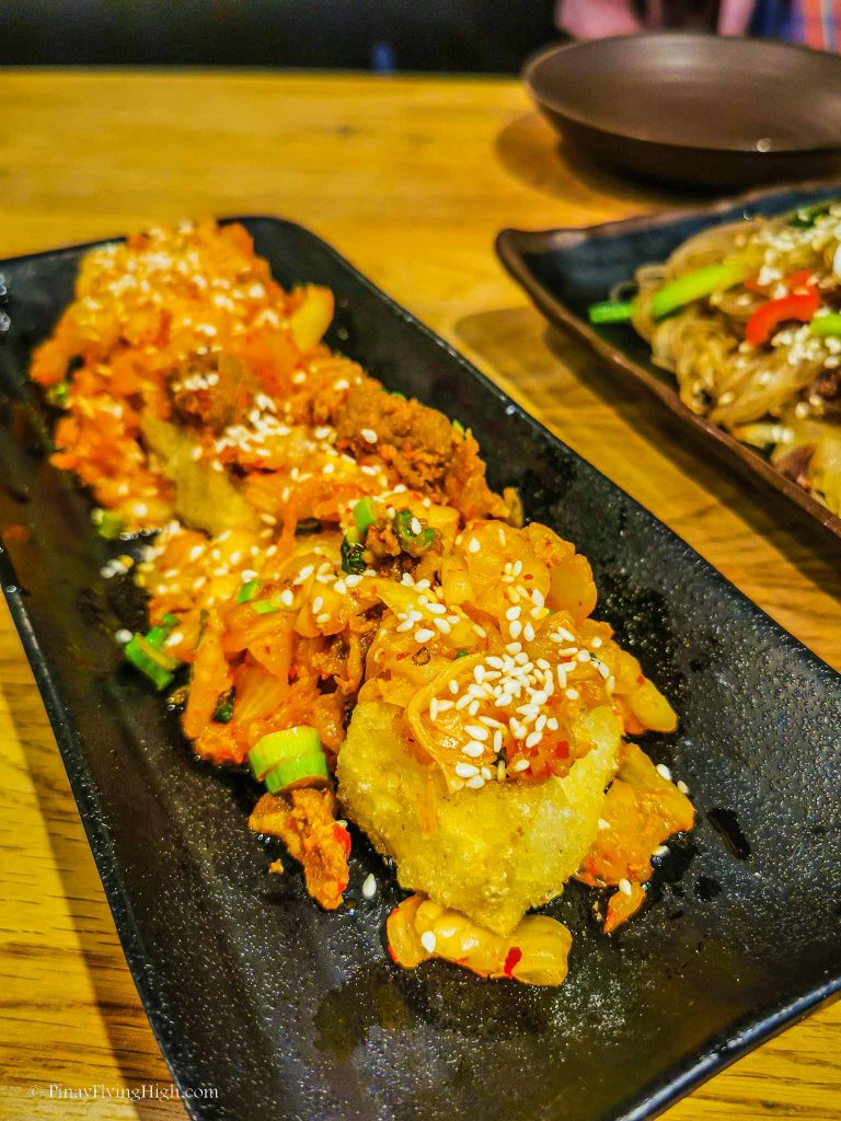 Tofu Kimchee at Lime Orange Restaurant