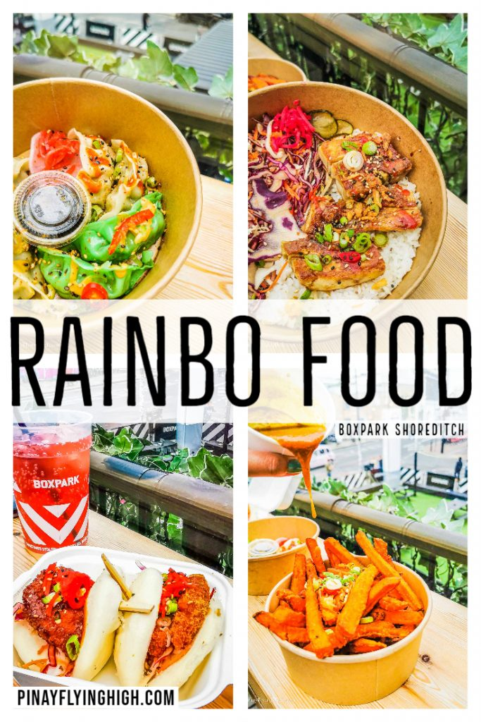 Rainbo Food, Boxpark Shoreditch, London, England