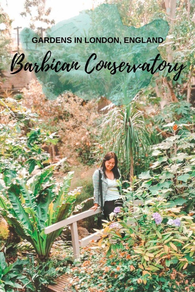 barbican conservatory, london, england