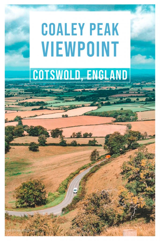 Coaley Peak Viewpoint, Cotswold, England