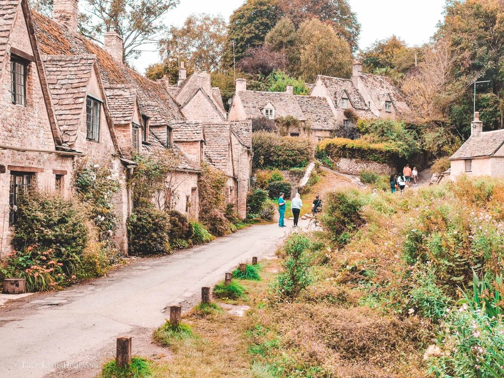 arlington row, bibury, gloucestershire, cotswolds, england
